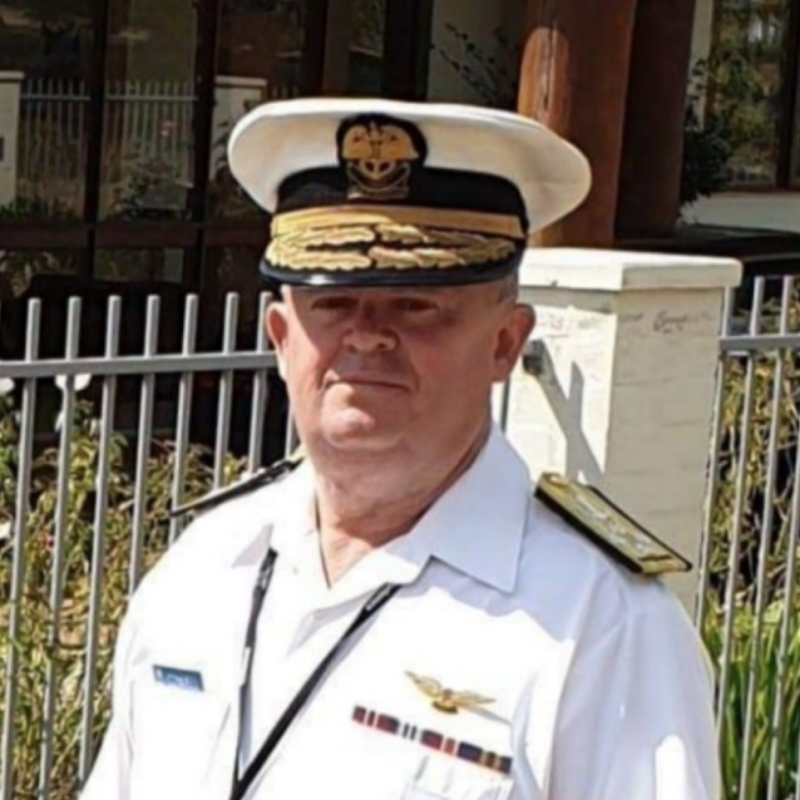 Admiral Peter Cowell