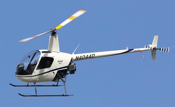 IntSAR Capability Review – Robinson R22