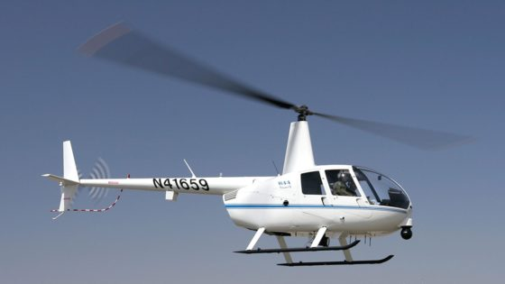 IntSAR Capability Review – Robinson R44